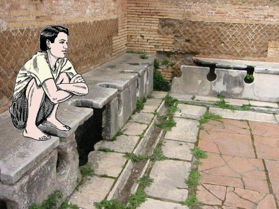 Jamban Orang Romawi (Wikipedia)