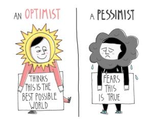 pesimis optimis