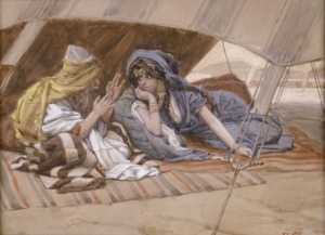 Tissot_Abram's_Counsel_to_Sarai